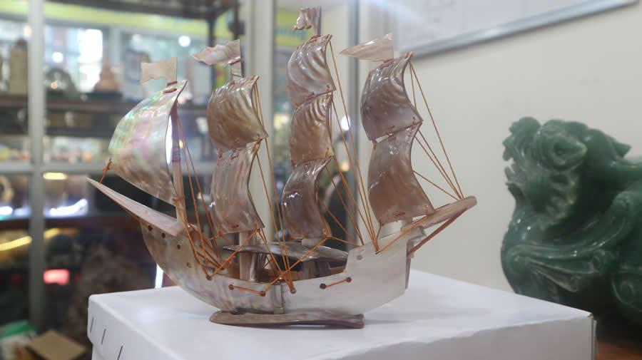 thuyền phong thủy